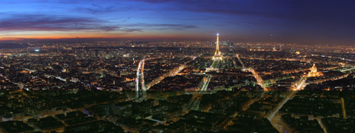 Massage à Paris la nuit